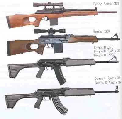 Выбор нарезного охотничьего оружия