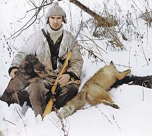 Все об охоте - Охота на беляков «в узёрку»