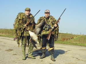 Как остаться с гусем на весенней охоте