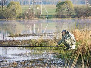 ловля линя в конце апреля