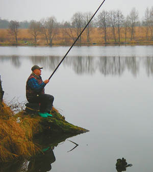 поплавочная рыбалка на реках подмосковья
